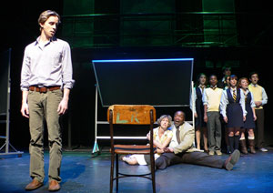 Adam Halpin, Valerie Wright, Chuck Cooper and company