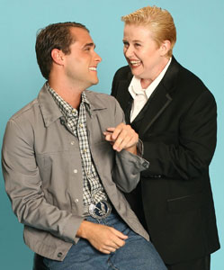 Josh Strickland and Sally Mayes