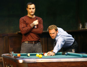 Dominic Fumusa and Josh Lucas in Fa