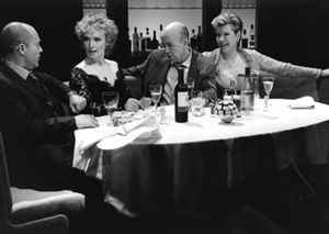 Keith Allen, Lindsay Duncan, Andy de la Tour, and Susan Wooldridge in Celebration(Photo: Ivan Kyncl)