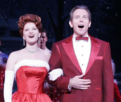 Kerry O'Malley and Stephen Bogardus in Irving Berlin's White Christmas