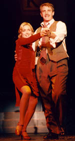 Jane Krakowski and Douglas Sillsin the 2000 L.A. Repriseproduction of Mack & Mabel(Photo: Tom Drucker)