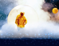 A scene from Slava's Snowshow