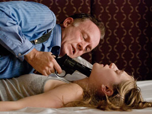 Reed Birney and Marin Ireland in Blasted