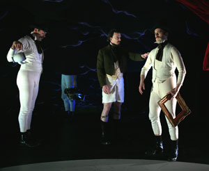 Dito van Reigersberg, James Sugg, and Geoff Sobelle