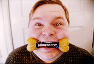 Mike Daisey in 21 Dog Years: Doing Time @ Amazon.com(Photo:  John Tynes)