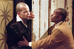 Jeffrey Wright and Don Cheadle in Topdog/Underdog(Photo: Michal Daniel)