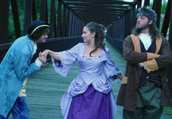 Eli Groves, Stephanie Curtice, and Stephen Poulos