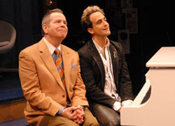 Peter Bartlett and David Pittu in