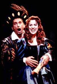 Rex Smith and Rachel Yorkin Kiss Me, Kate(Photo: Joan Marcus)
