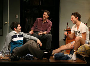 Jason Biggs, Rhys Coiro, and Peter Scanavino