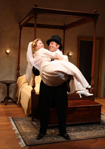 Jessica Dickey and Todd Weeks