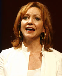 Julie White in The Little Dog Laughed