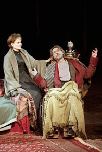 Debra Monk and Christopher Walkenin The Seagull(Photo: Michal Daniel)