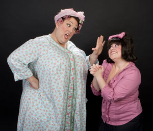 Michael Walker and Amy Toporek in Hairspray