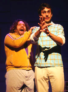 Dan Fogler and Charles Socarides