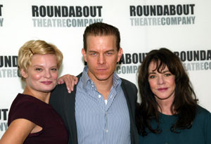 Martha Plimpton, Christian Hoff, and Stockard Channing