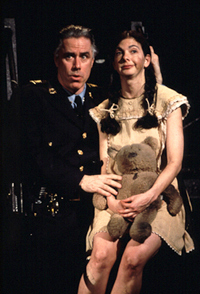 Jeff McCarthy and Spencer Kaydenin Urinetown(Photo: Joan Marcus)