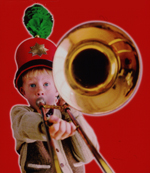 Publicity art for The Music Man