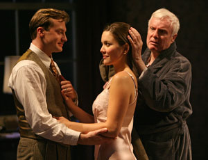Robert Eli, Rosie Benton, and John McMartin