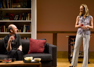 David Cale and Lisa Emery in Mouth to Mouth