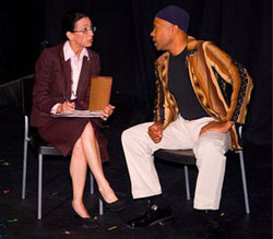 Jan Leslie Harding and Ernest Williams in