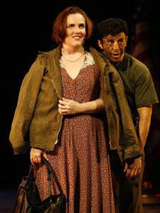 Donna Lynne Champlin and Fred Berman