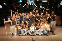 The cast of Stomp Out Loud