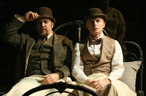 Alexander Gemignani and Michael Cerveris in Road Show