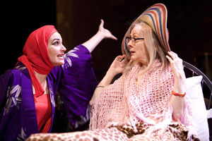 Barbara Walsh and Barbara Broughton in Grey Gardens