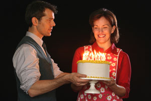 J. Robert Spencer and Alice Ripley in Next to Normal (© Joan Marcus)