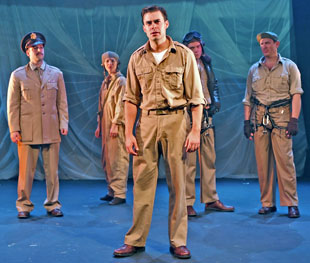 John Lavelle (center) with Mark Alhadeff, Christina Pumariega,