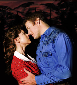 Laura Griffith and Edward Watts in