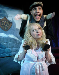 Kirsten Vangsness and Jaime Robledo