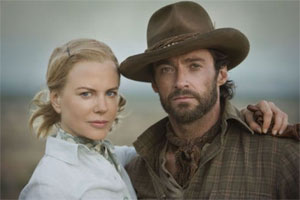 Nicole Kidman and Hugh Jackman in Australia