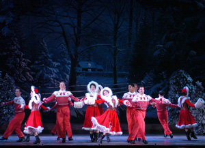 The Company of Irving Berlin's White Christmas