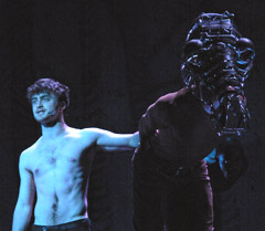 Daniel Radcliffe (left) at Gypsy of the Year