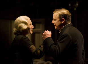 Gemma Jones and Samuel West in The Family Reunion