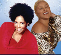 Melba Moore and Darlene Love