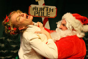 Lusia Strus and Bill Coelius in The Truth About Santa