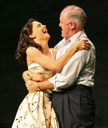 Katie Holmes and John Lithgow