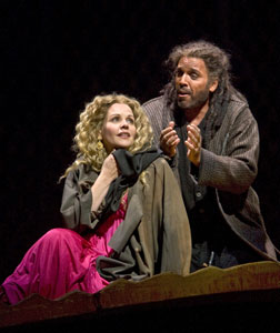 Renée Fleming and Thomas Hampson in Thais