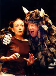 Karina Garnett and Alan Park