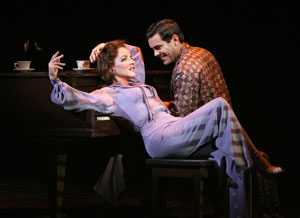 Stockard Channing and Matthew Risch in Pal Joey