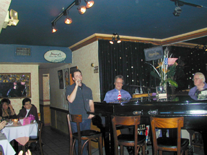 Scott Ailing and Jerry Scott performing last weekend at Danny's(Photo: Michael Portantiere)