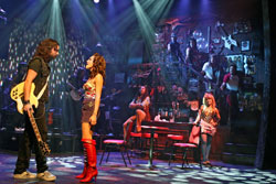 A scene from the Off-Broadway production