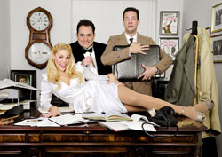 Ginny Wehrmeister, Marcus Klinger, and