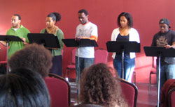 Cast members of Living Green