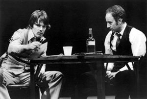 Ethan Hawke and Arliss Howard in The Late Henry Moss(Photo: Susan Johann)