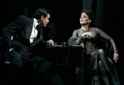 Matthew Risch and Stockard Channing in Pal Joey